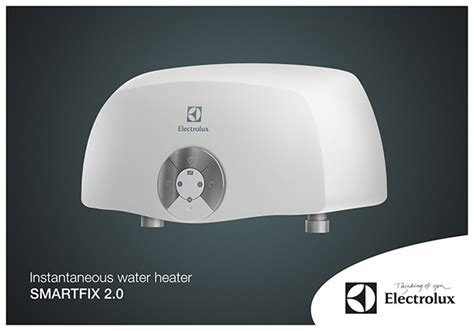 Water Heater Electrolux instantaneous electric water heater electrolux on behance