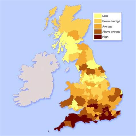 most affordable places to live on the west coast where is the most affordable place to live in the uk house prices map housekeeping