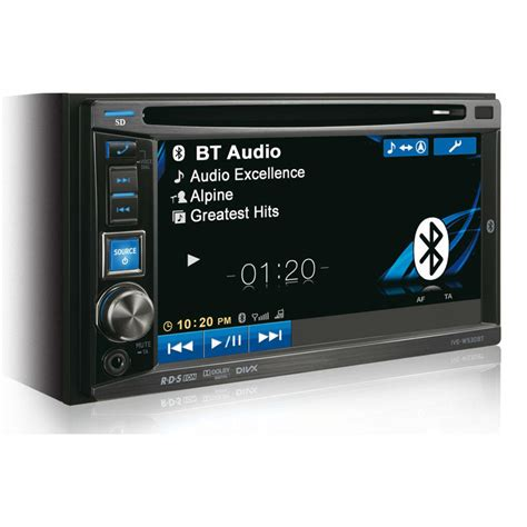 Dobledin Tv universal din car stereo car dvd player lcd touch screen with bluetooth analog tv in car