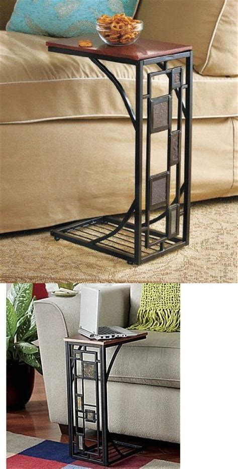 slate trimmed sofa side table 1000 images about wrought iron tile top table on