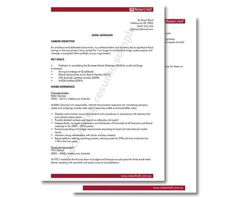 resume template accounting accounting resume template robert half