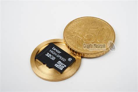 50 buro cent hollow coin