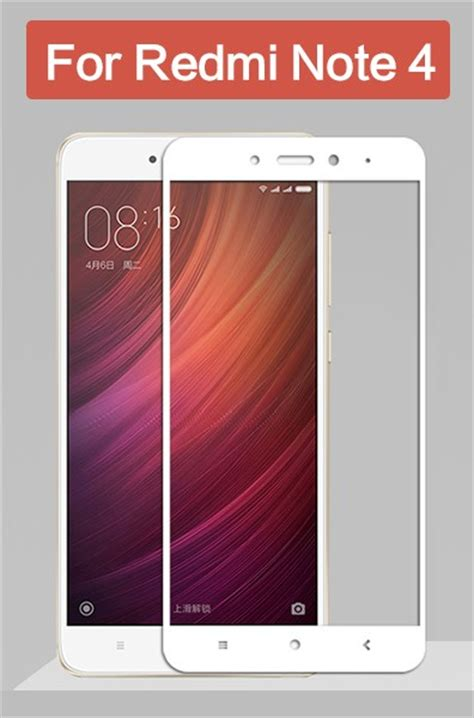 Tempered Glass Redmi Note 4 redmi note 4 cover protection tempered glass screen