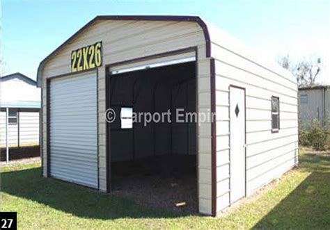Enclosed Car Port by Carports Enclosed Carport Prices