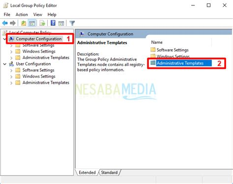 2 Cara Mengaktifkan Cortana Di Windows 10 Lengkap Gambar Windows Computer Configuration Administrative Templates