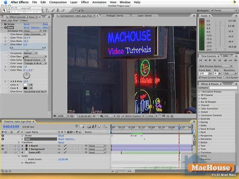 Tutorial After Effect Cs2 | adobe after effects photoshop integration 5 machouse