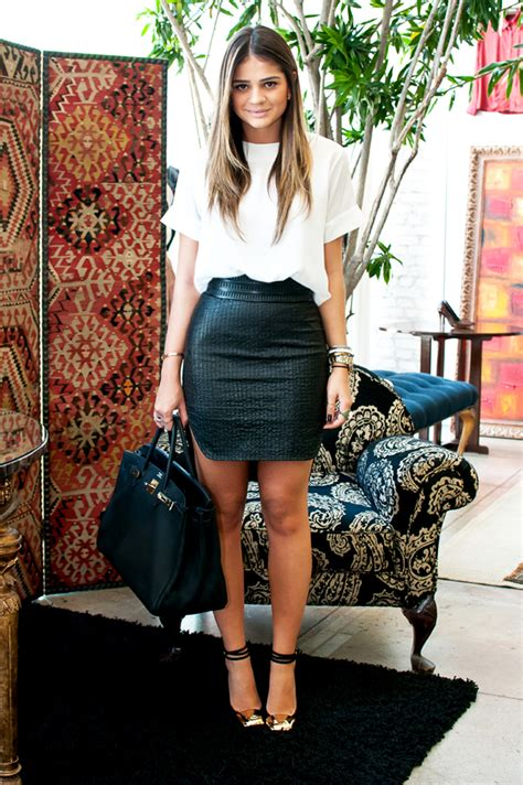 bodycon on houndstooth pencil skirts and crop