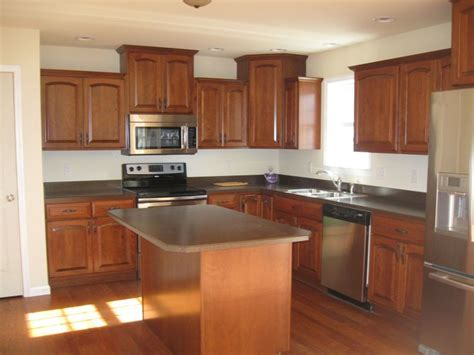 kitchen cabinets cherry finish cherry cabinets with colonial cherry finish brazilian