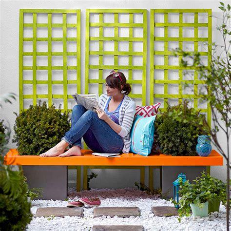 hübsche gärten wie sie selbst eine h 252 bsche und effektvolle gartenbank