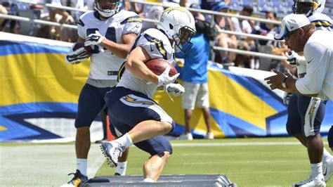 where do the chargers practice save our bolts echoes at chargers fanfest