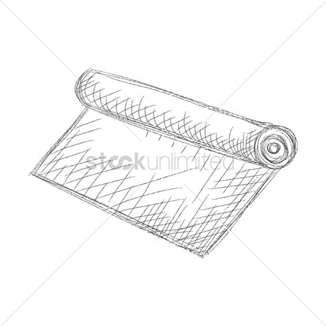 yoga mat vector image 1682204 stockunlimited