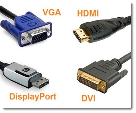 porturi vga vs dvi vs hdmi vs displayport pc