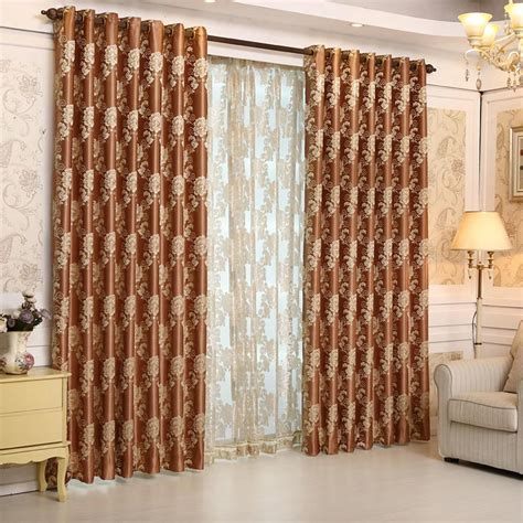 bedroom window curtains and drapes aliexpress com buy 2015 luxury europe jacquard thick