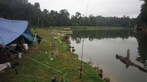 kmn fisher memburu kelah taman negara tasik kenyir