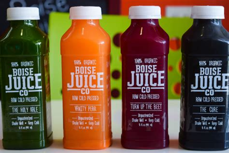 Detox Boise by Where To Get Your Juice On In Idaho