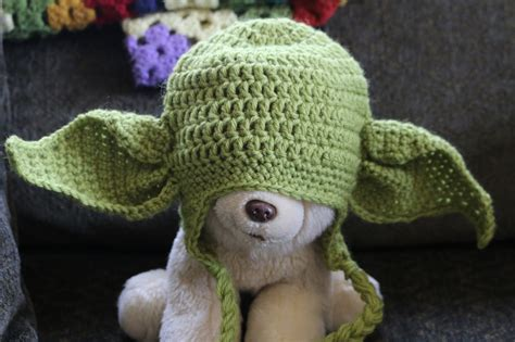 pattern crochet yoda chemknits crochet a yoda baby hat i will