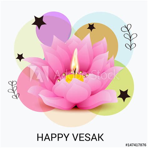 vesak card templates happy vesak day banner buy this stock illustration and