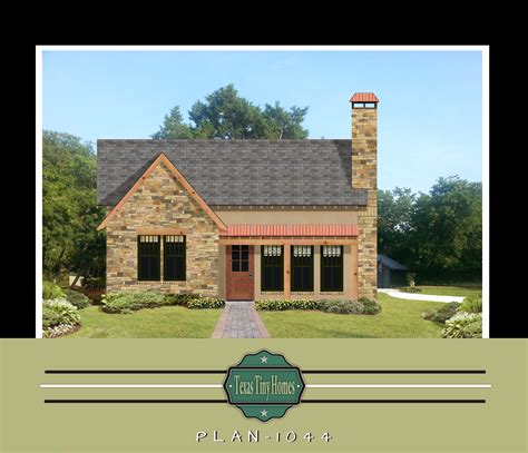 tiny texas houses plans plan 1044