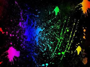 neon color neon colors rock images splatter hd wallpaper and