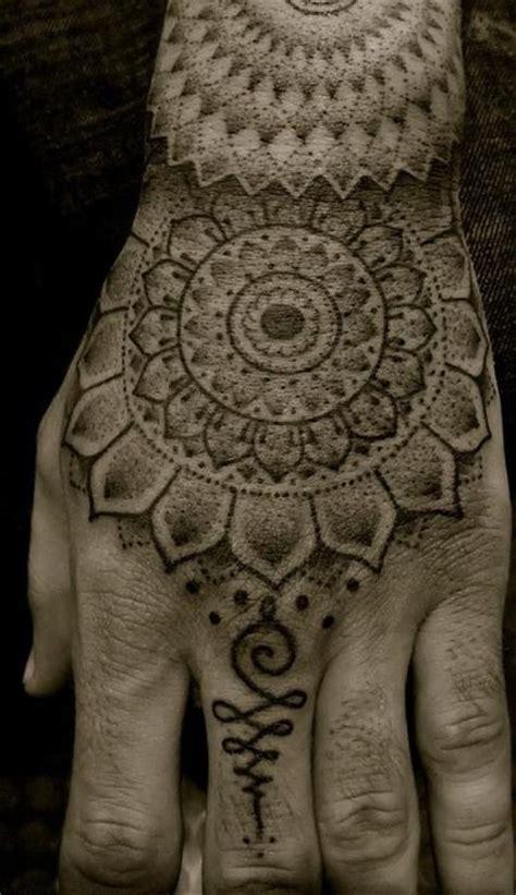 tattoo hindu hand mandala inkmx tatuajes tattoos tatuajes manos