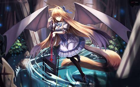 wallpaper anime girl sword anime sword girl widescreen wallpapers 21412 baltana