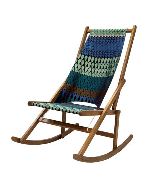 Fabric Rocking Chair by Want One Folding Rocking Chair Made By Wawa