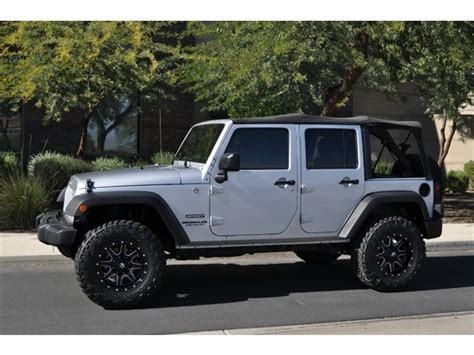 2011 Jeep For Sale 2011 Jeep Wrangler Unlimited Sport For Sale In Tempe Az