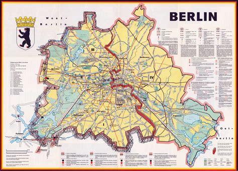 berlin on map of germany large detailed map of berlin berlin germany europe