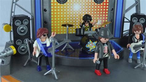 what pop stars pop and rock stars has died this year playmobil pop stars rock stage time lapse build youtube