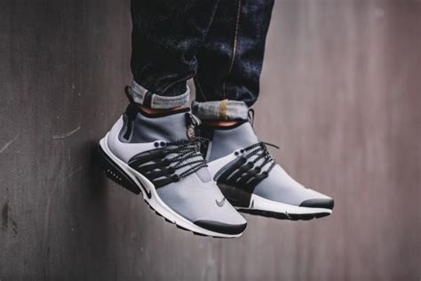 Nike Air Presto Low Utility Grey Premium Original nike air presto mid utility grey black size 6 13