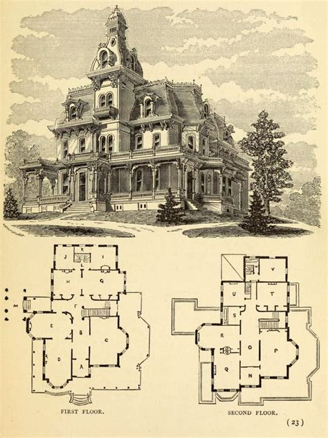 large victorian house plans addams family house family houses and victorian on pinterest