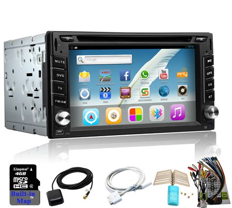 din android aliexpress buy free include car dvd android player gps cd navigation wifi usb map
