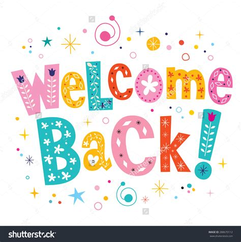 welcome back card template clipart welcome back 101 clip