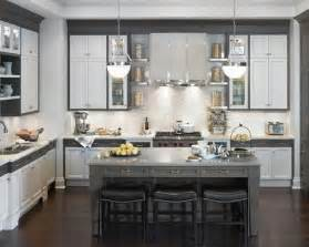 gray and white kitchens houzz shaker style kitchen cabinets diamond cabinetry