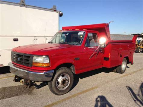auto body repair training 1995 ford f250 parental controls 1995 ford f350 service body dump truck 95k 5 8 v8 clean for sale from melbourne florida brevard
