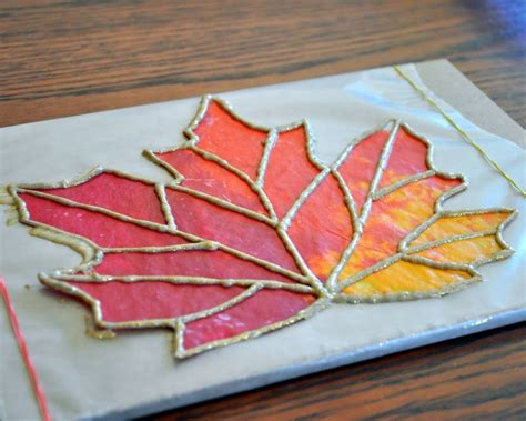 Wax Paper Craft - wax paper stained glass 1st 3rd grade integrates