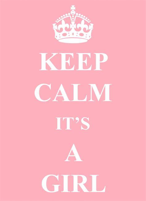 imagenes de keep calm its a girl baby girl announcement card free stock photo public
