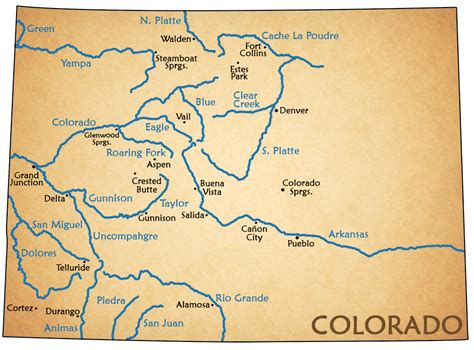 us map with arkansas river rafting the arkansas browns colorado a