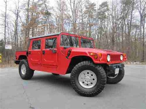 hummer h1 gas find used 1995 hummer h1 gas corvette 37 quot toyo mt