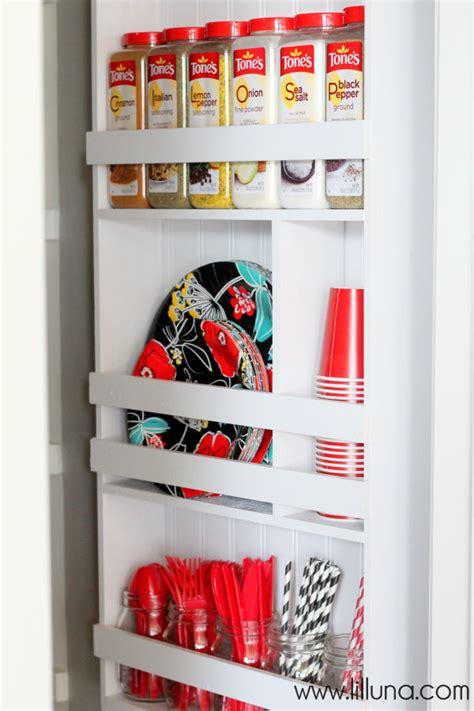 Pantry Shelf Organizer by Pantry Organizer Tutorial