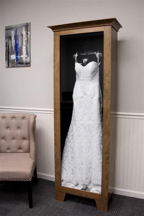 WEDDING DRESS DISPLAY CASE   Distinctive Millworks