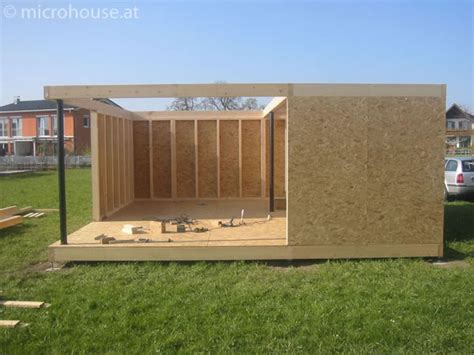 Free Tiny House Blueprints by Microhouse Das Minihaus Projekt