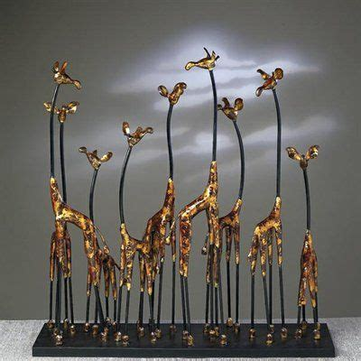 giraffe statue home decor 22 best images about home decor on pinterest safari home