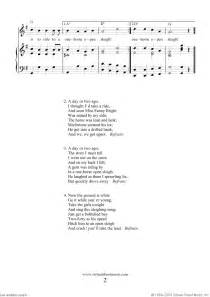 Jingle bells christmas song sheet music page 2