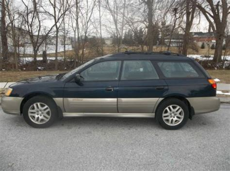 2000 Subaru Outback Legacy by Find Used 2000 Subaru Legacy Outback Wagon In