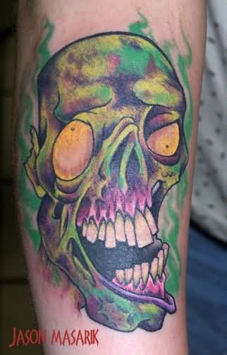 zombie tattoo fonts images designs