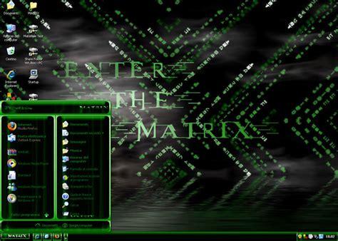 windows 7 matrix theme enter the matrix theme download