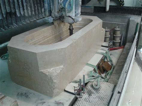 baignoire dans le sol l du bain marbrerie proven 231 ale