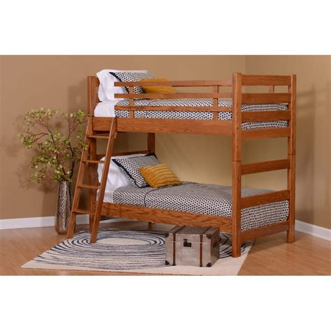 amish bunk beds c teton bunk bed amish crafted furniture