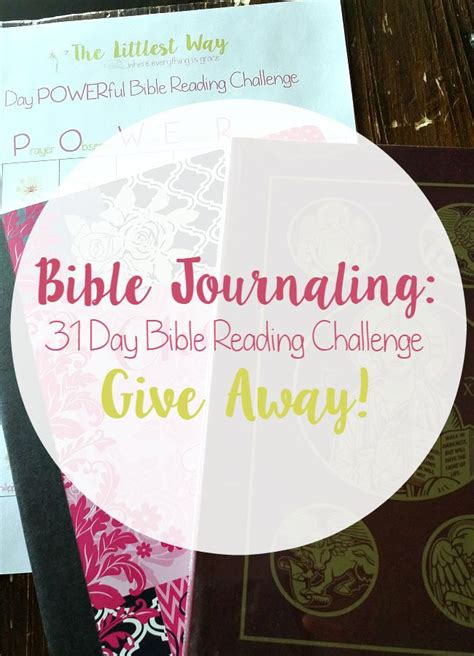 Journal Giveaway - bible journaling bible journal and pens giveaway